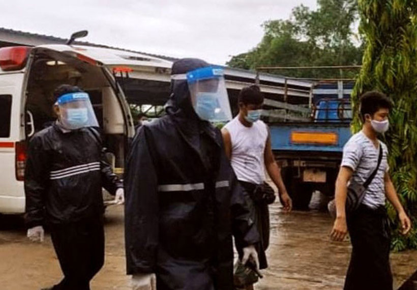 Quarantined Returnees Jailed for Being Drunk and Disorderly in Myanmar