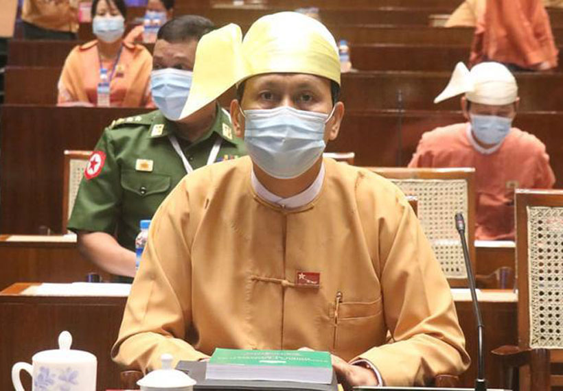 Yangon Region Parliament rejects resolution seeking to impeach Chief Minister