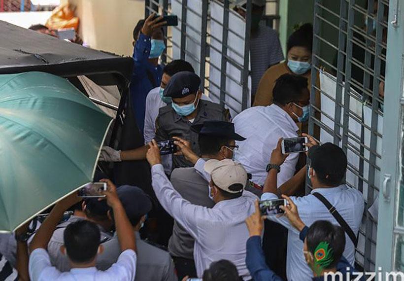 Sixth hearing for case of Saw David Lah and Wai Tun