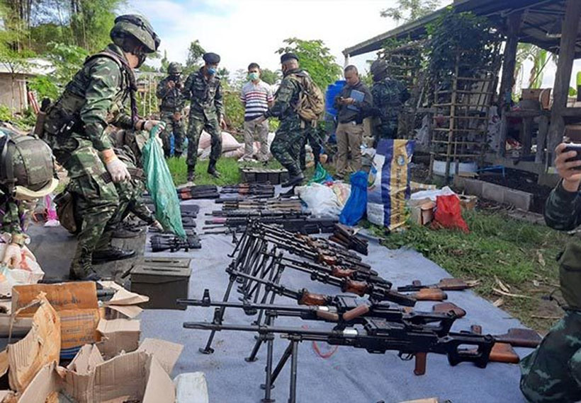 Chinese-Made Arms Due for Myanmar Seized on Thai Border