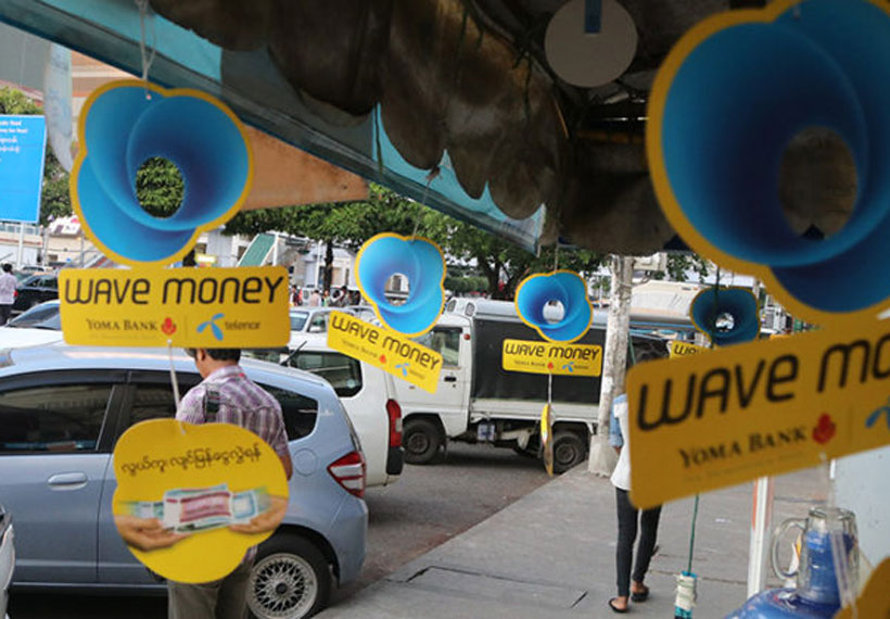 Myanmar's Yoma Strategic to Buy Majority Stake in Wave Money From Telenor