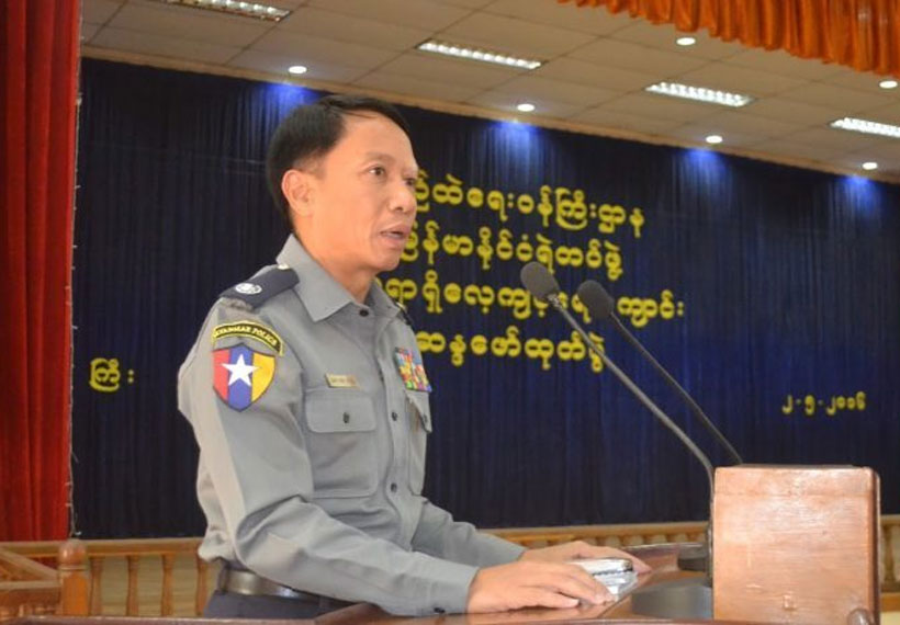 Senior Myanmar Police Officer Accused of Sexual Exploitation of Female Officer