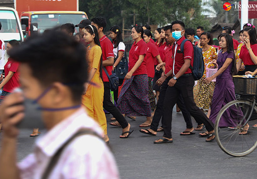 Quarter of a Million Myanmar Workers Left Jobless Due to COVID-19