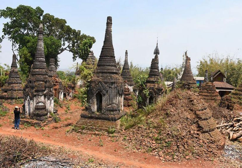 Deterioration worsen in ancient city Moe Nae in Shan State